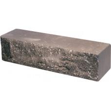Кирпич облицовочный брусок шоколад скол скала 250*50*65мм М250кг/см2 полнотелый Судогодский