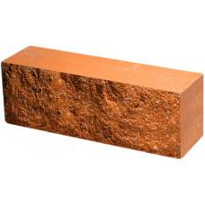 Кирпич облицовочный брусок персик скол скала 250*50*88мм М250кг/см2 полнотелый Судогодский