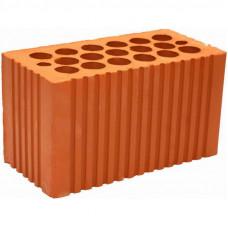 Кирпич строительный 2,1 NF красный рифленый 250*120*138мм М200кг/см2 щелевой Кашира